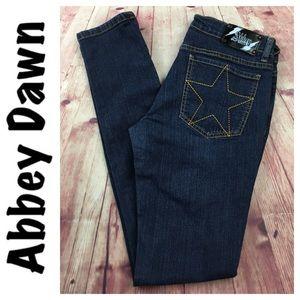 💙Abbey Dawn stretch denim skinny Jean size 7